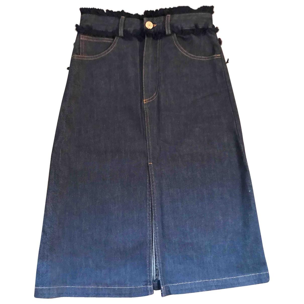 See By Chloe \N Rocke in  Blau Denim - Jeans