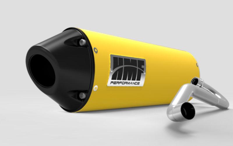 HMF Racing 20604726383 Honda CBR 250R Full Exhaust System Yellow