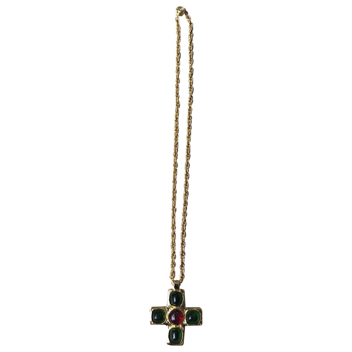 Collar largo Baroque Chanel