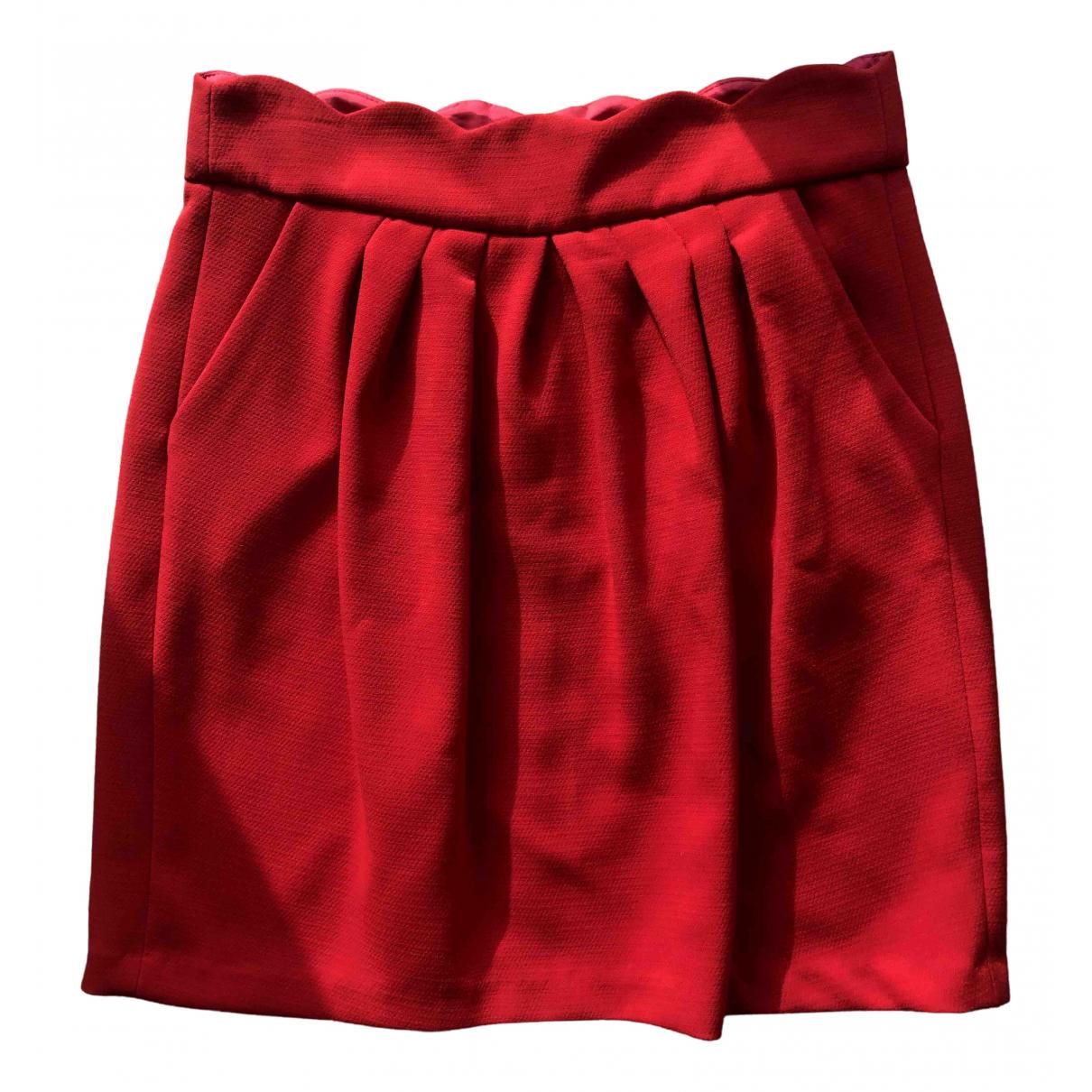 Claudie Pierlot \N Rocke in  Rot Polyester