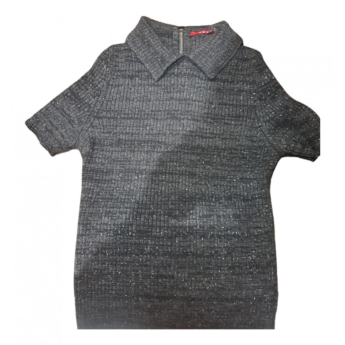 Prada - Top   pour femme en laine - noir