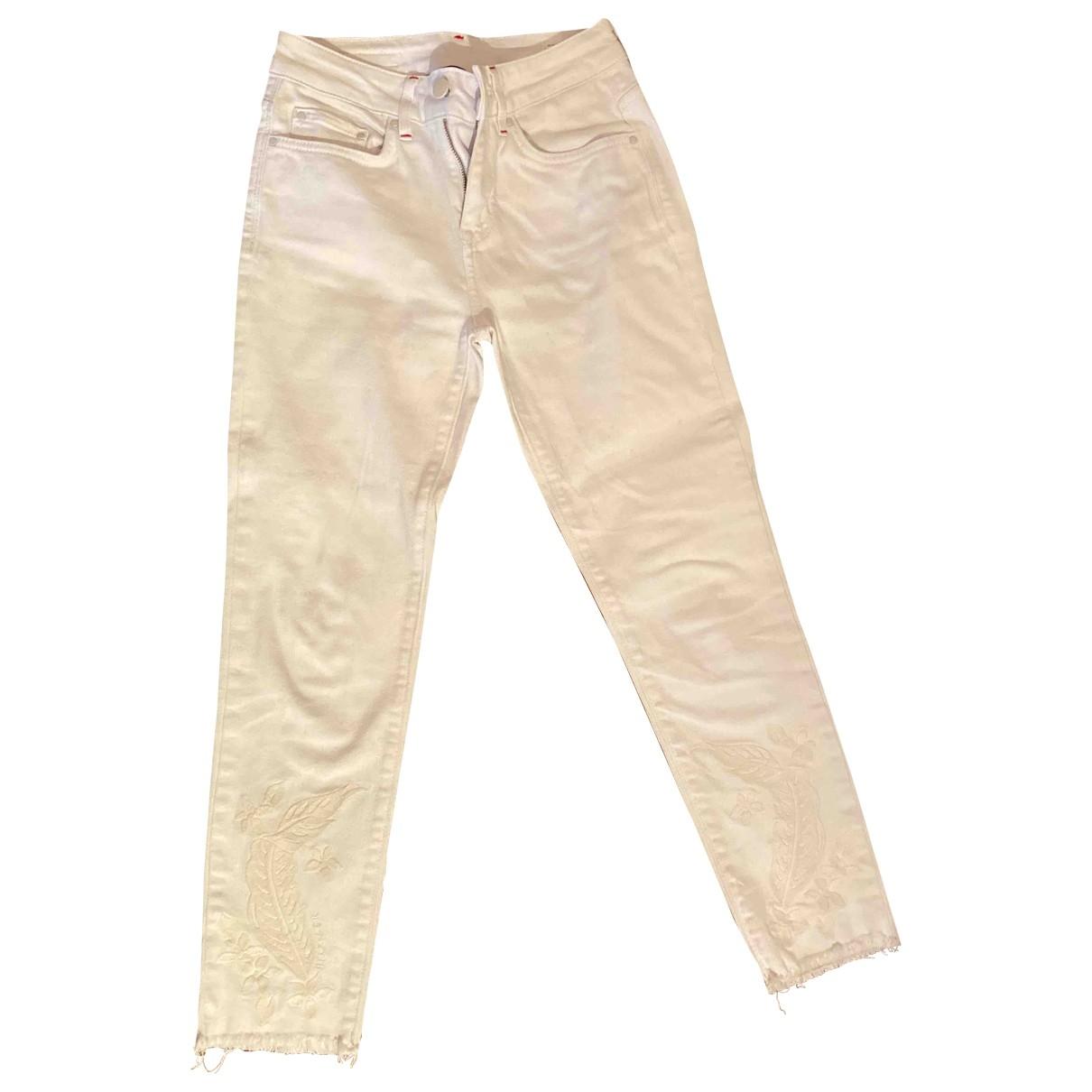 Tommy Hilfiger \N White Denim - Jeans Jeans for Women 26 US