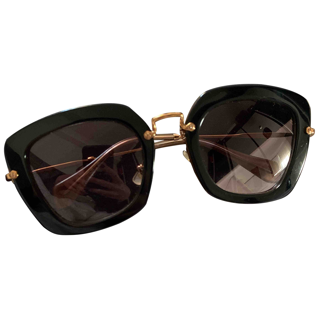 Miu Miu \N Black Sunglasses for Women \N