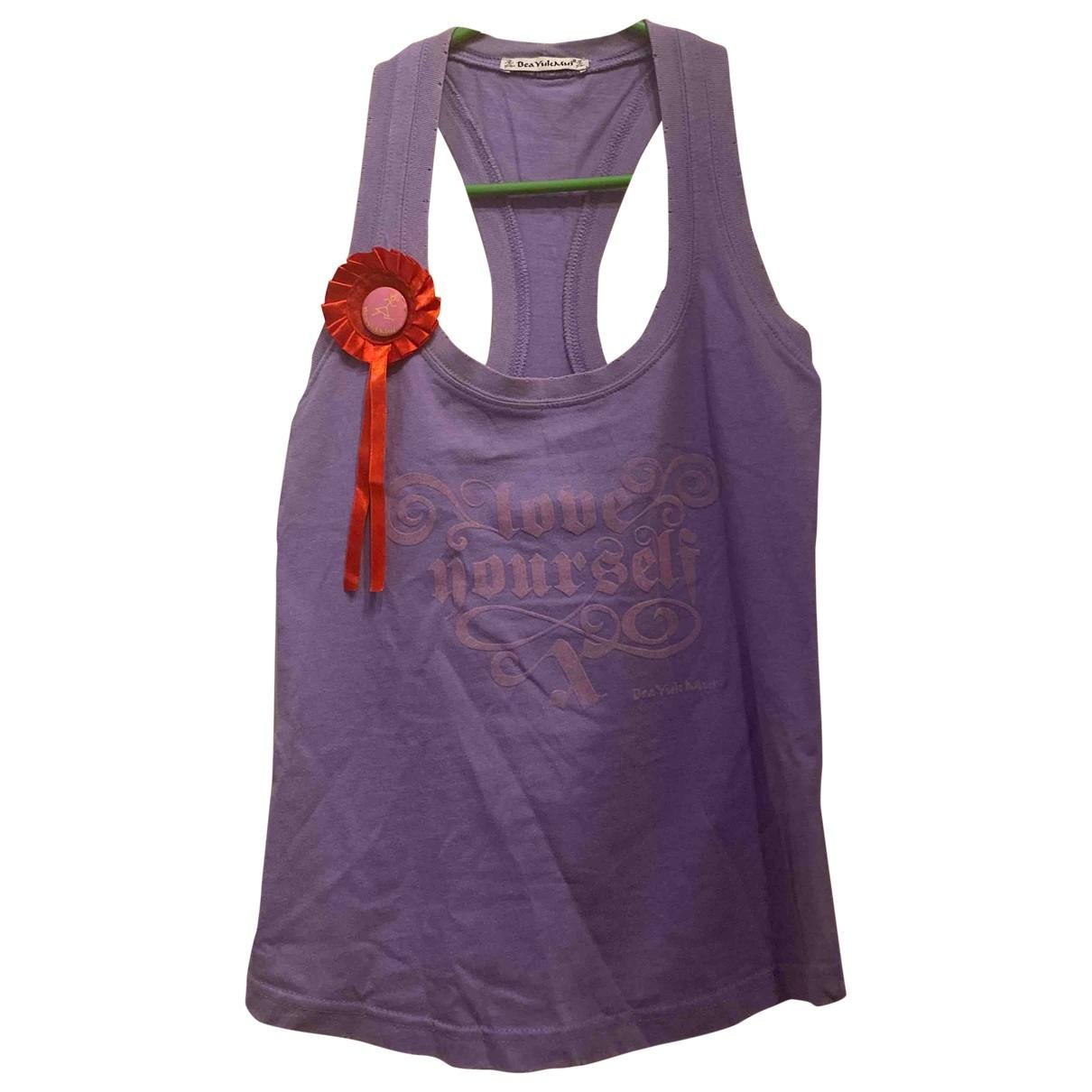 Beayukmui \N Purple Cotton  top for Women S International