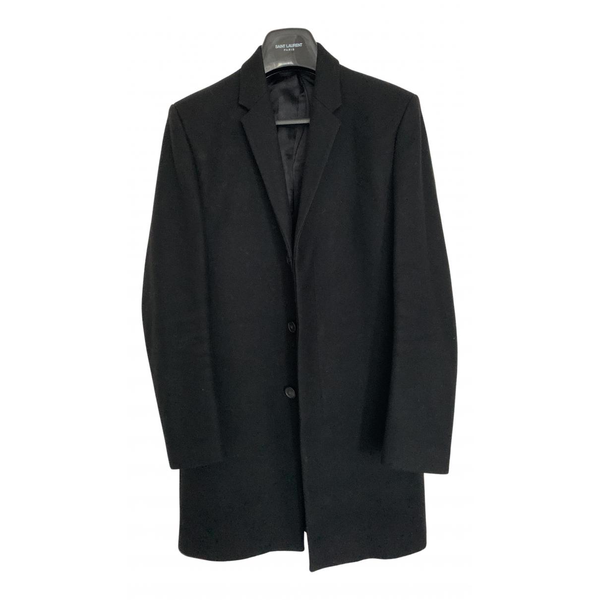 Cos N Black Wool coat  for Men 46 FR
