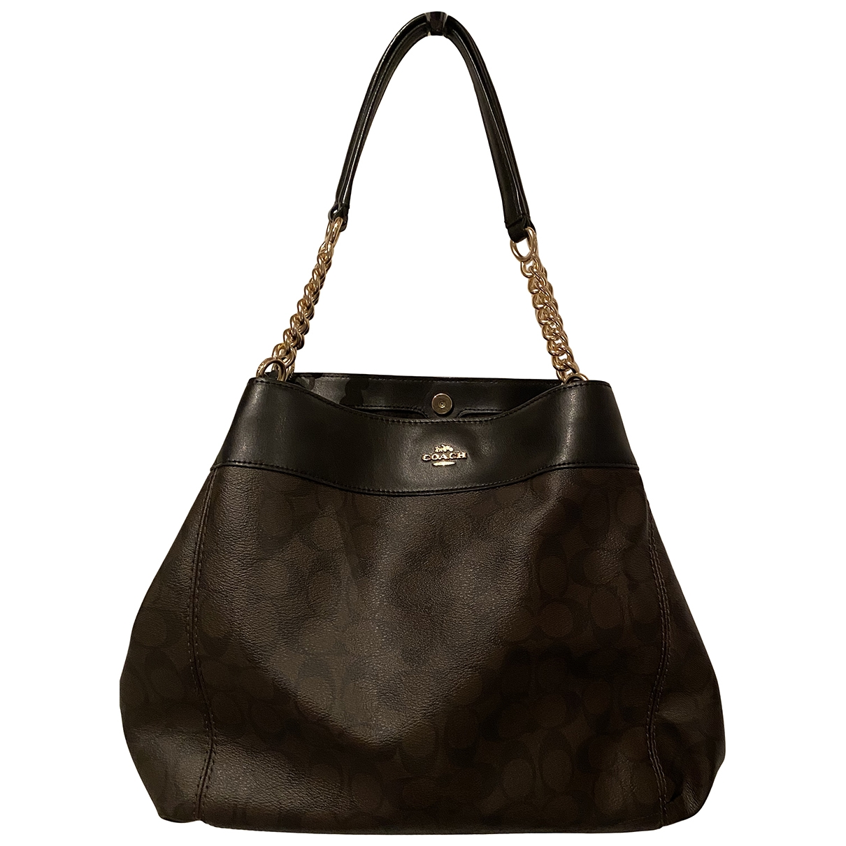 Coach \N Cloth handbag for Women \N