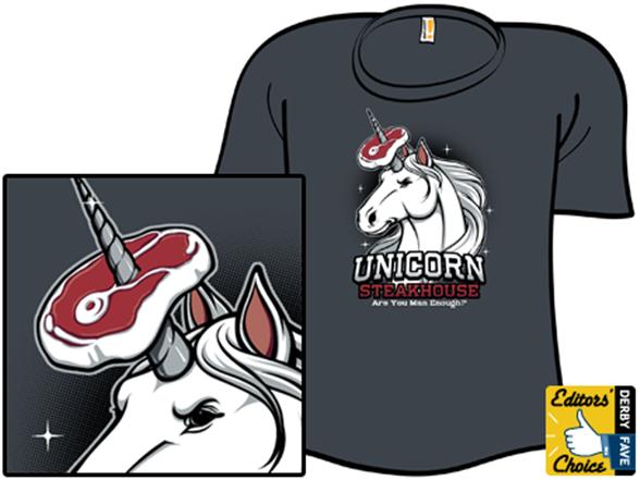 Unicorn Steakhouse T Shirt
