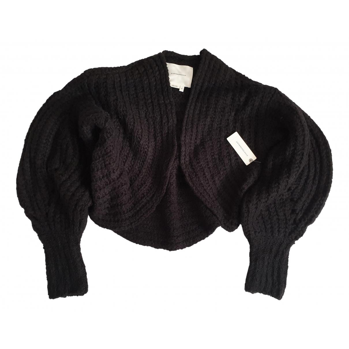 Anthropologie - Pull   pour femme en laine - noir