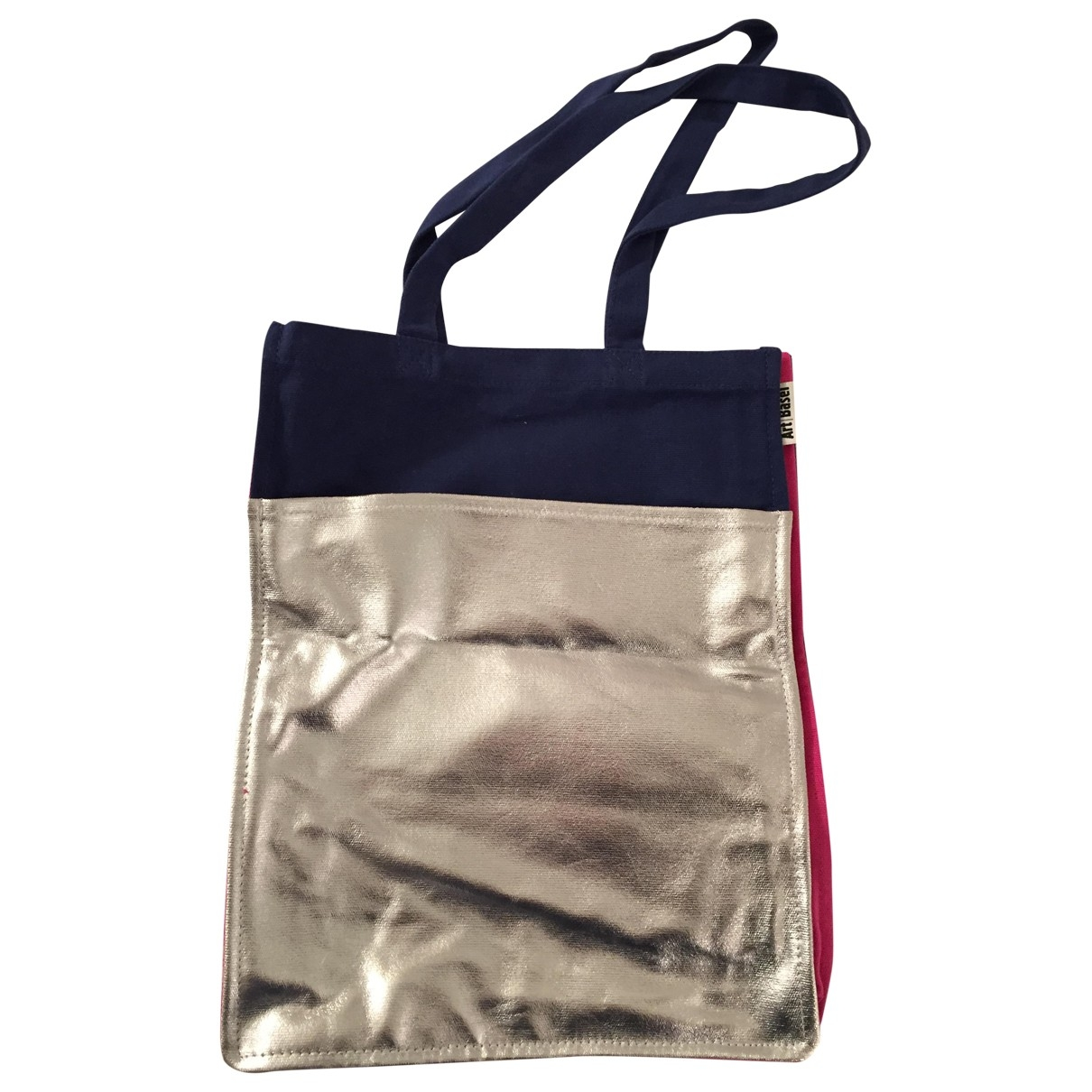Non Signe / Unsigned \N Handtasche in  Bunt Baumwolle