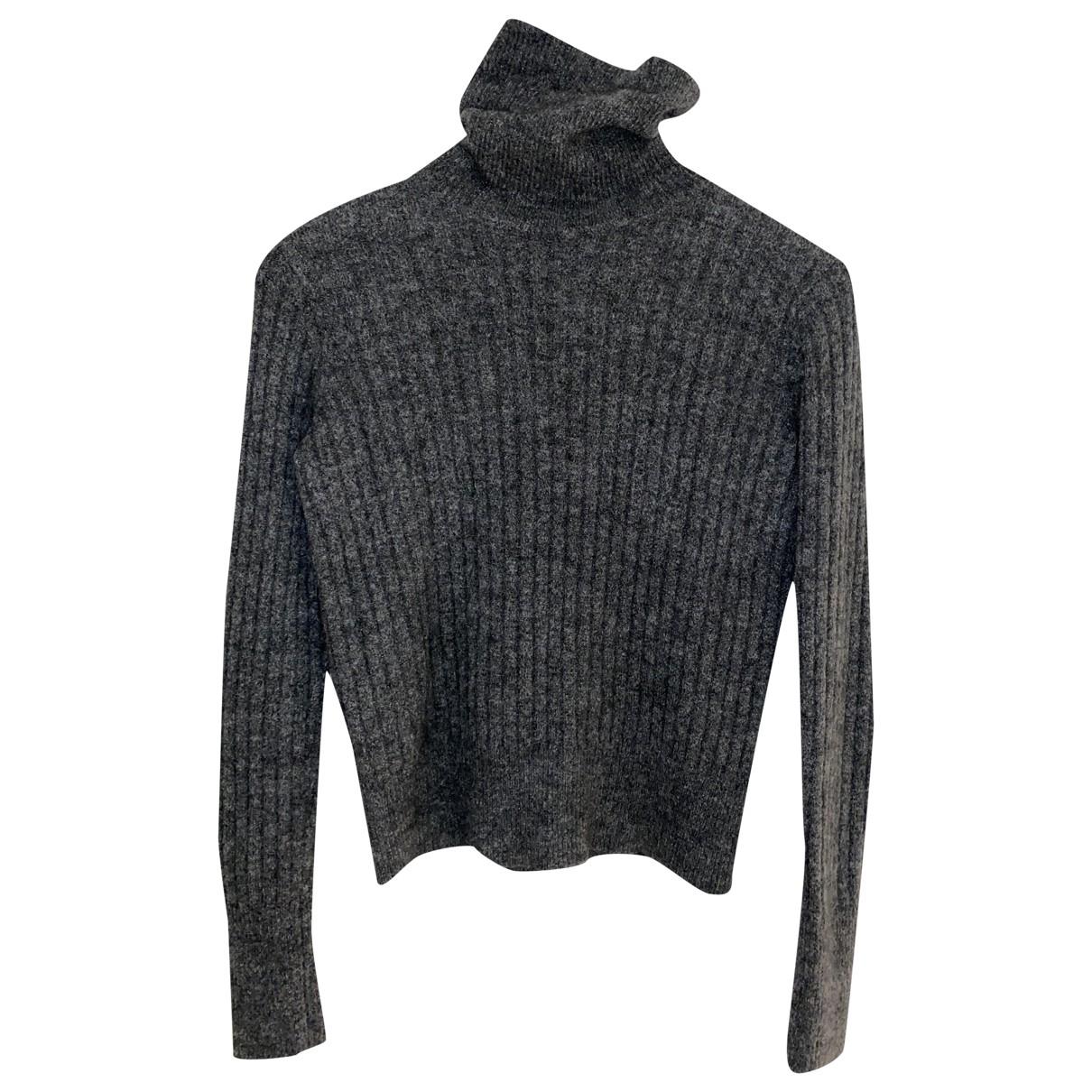 Zara - Pull   pour femme en laine - gris