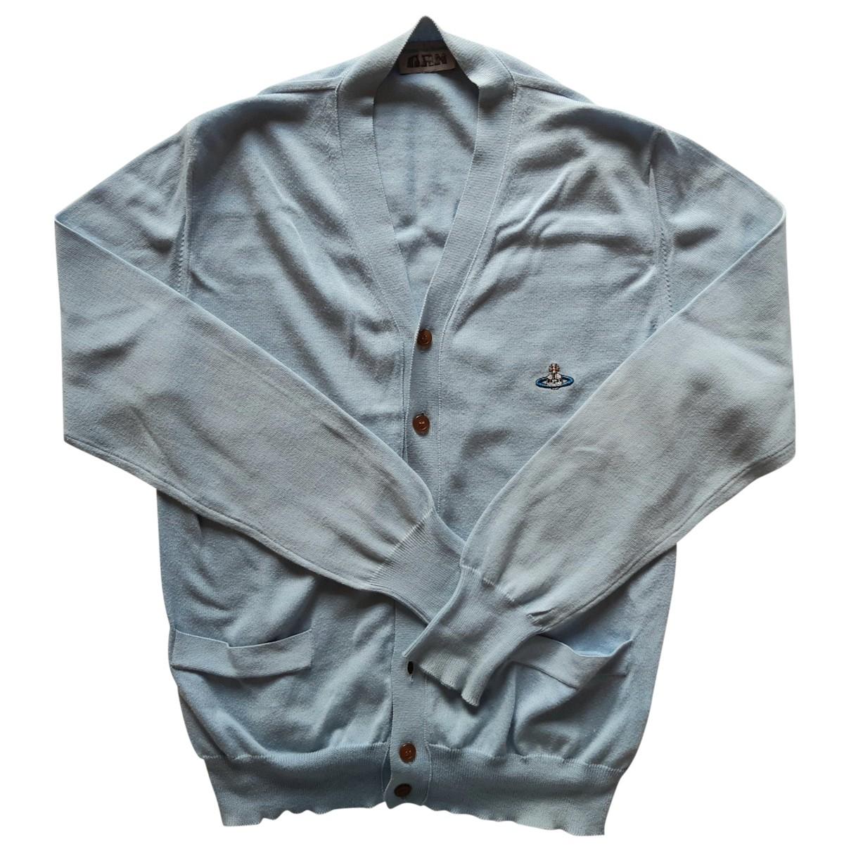Vivienne Westwood \N Blue Cotton Knitwear & Sweatshirts for Men S International
