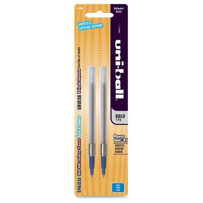 Uni-Ball@ Bold Point Pen Refill for Power Tank RT, 1.0 mm