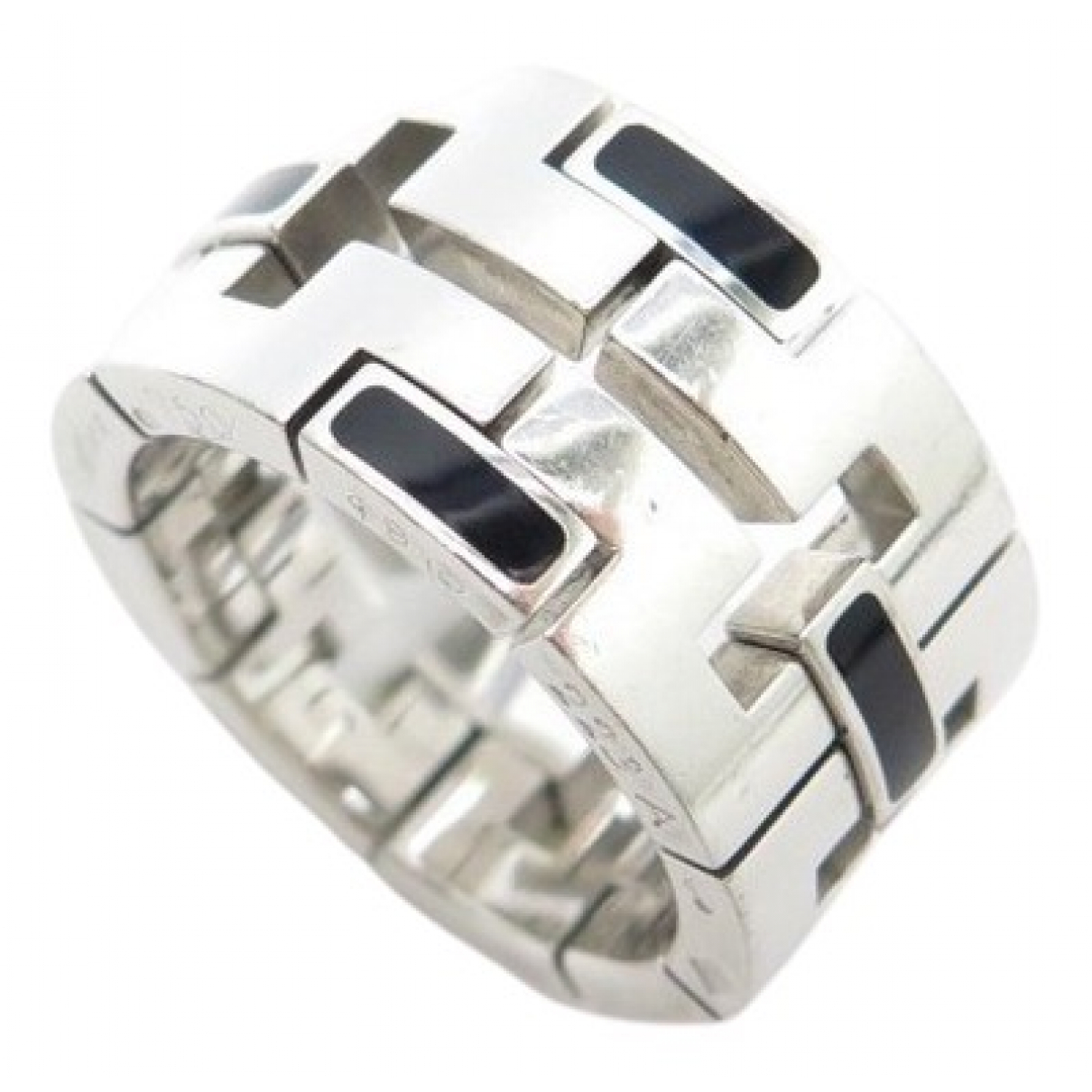 Cartier N Silver White gold ring for Women 49 MM
