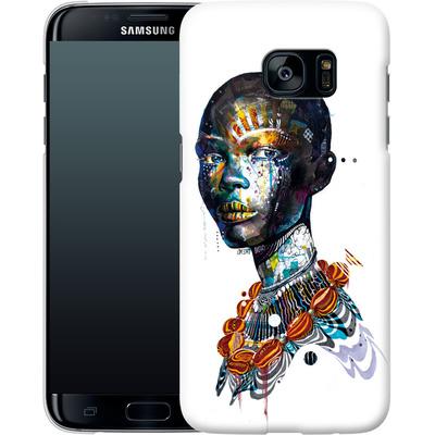 Samsung Galaxy S7 Edge Smartphone Huelle - Zebra von Minjae Lee