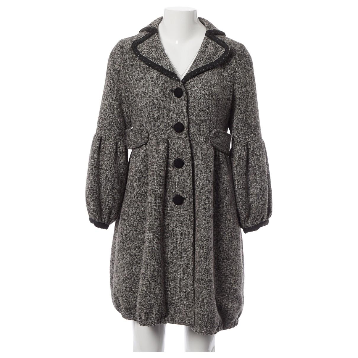 Marc Jacobs \N Maentel in  Grau Wolle
