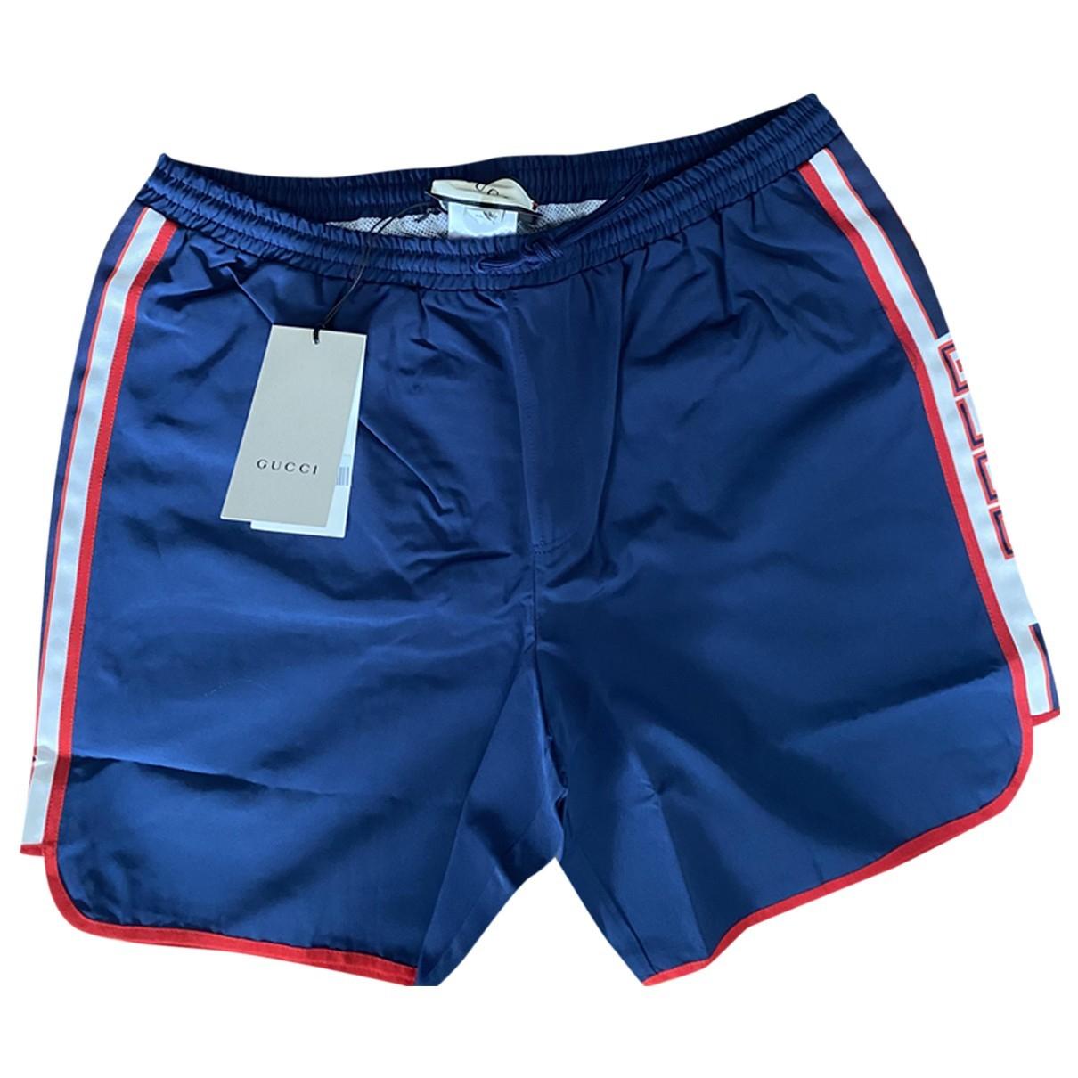 Gucci N Blue Swimwear for Men 48 IT