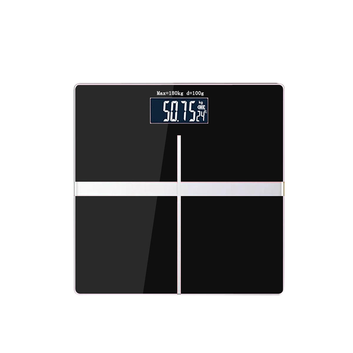 AUGIENB Electronic Weight Scale Square Body Health Scale