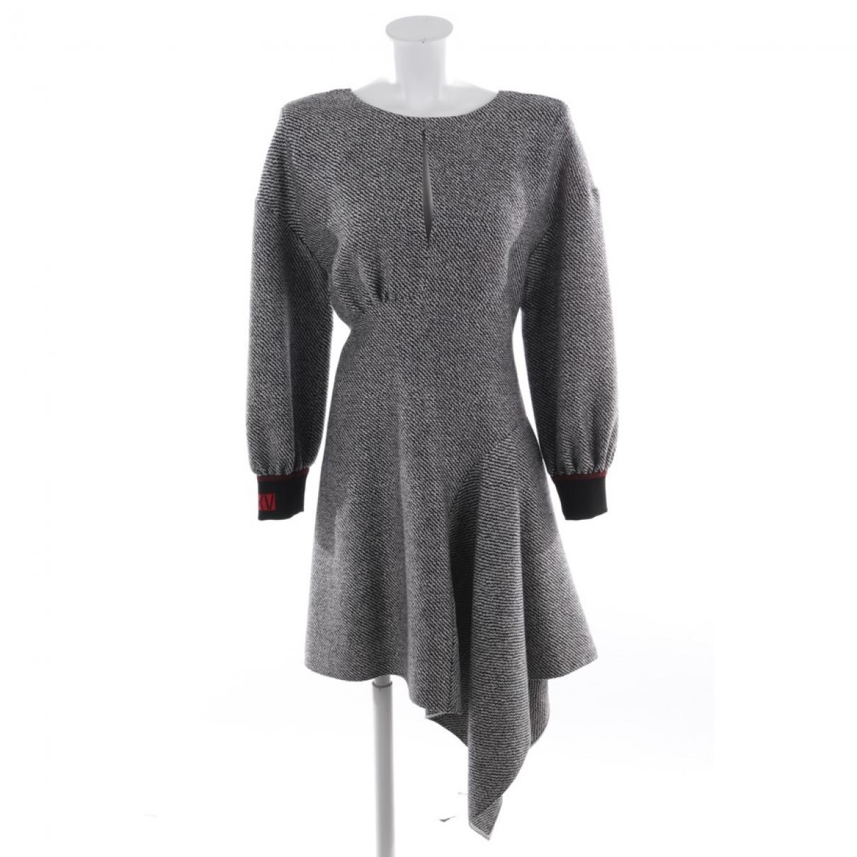 Fendi - Robe   pour femme en laine - gris