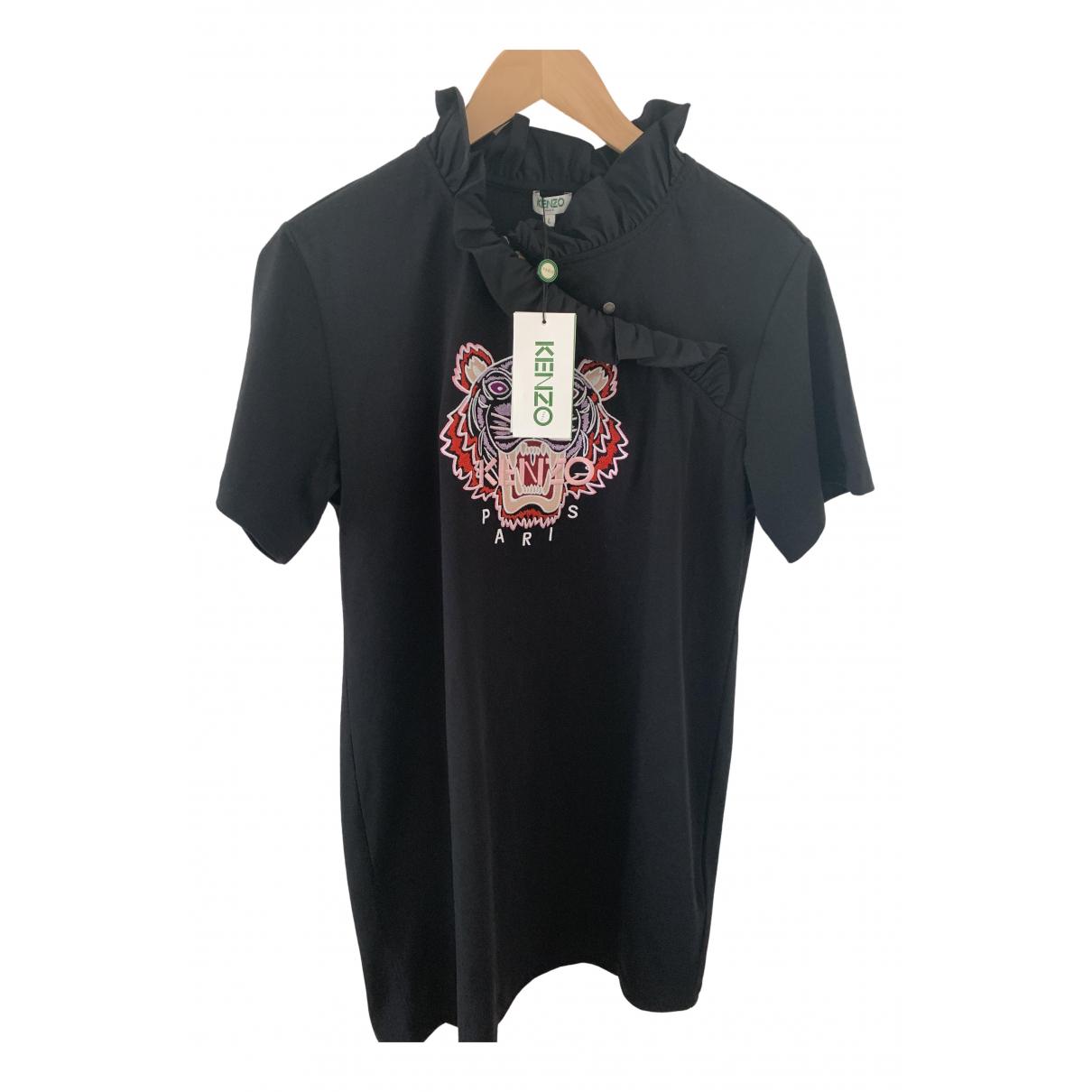 Kenzo \N Black Cotton dress for Women 40 FR