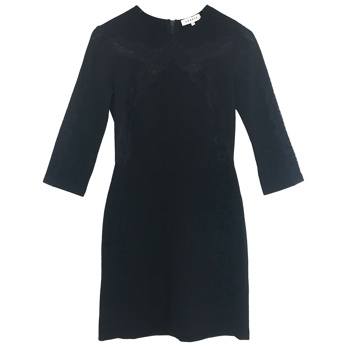 Sandro \N Black dress for Women 1 0-5