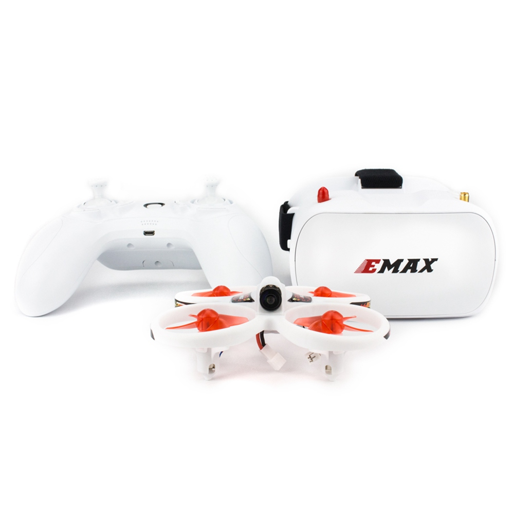 Emax EZ Pilot Indoor Beginner FPV Racing Drone With 4 In1 3A ESC 480x272 FPV Goggles 5.8G 37CH 25mW VTX 600TVL Cam RTF