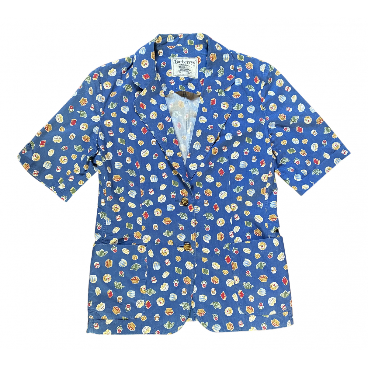 Burberry N Multicolour Cotton jacket for Women 6 UK