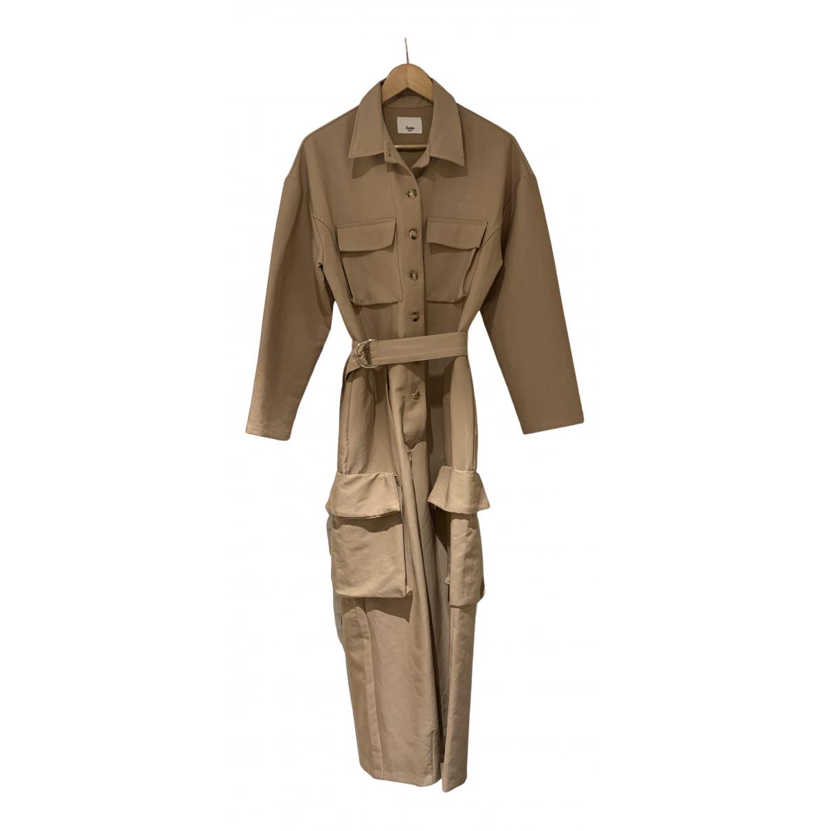 The Frankie Shop - Combinaison   pour femme en coton - beige