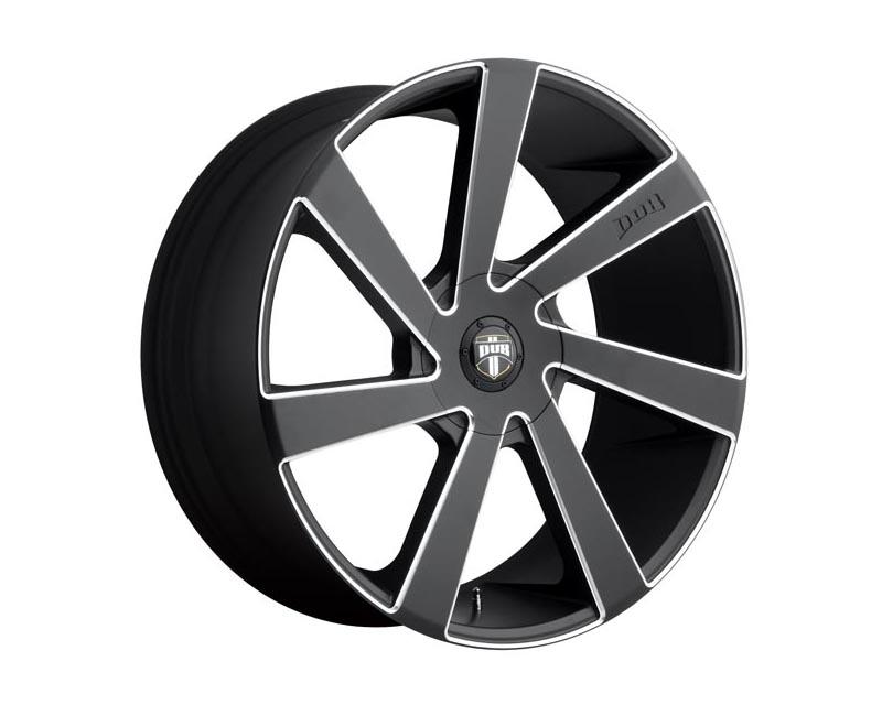 DUB S133 Directa Wheel 22x9.5 BLANK 35mm Matte Black Milled