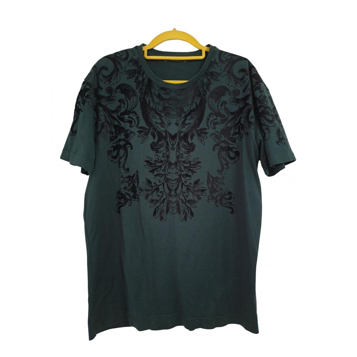 Dolce & Gabbana - Chemises   pour homme en coton - vert