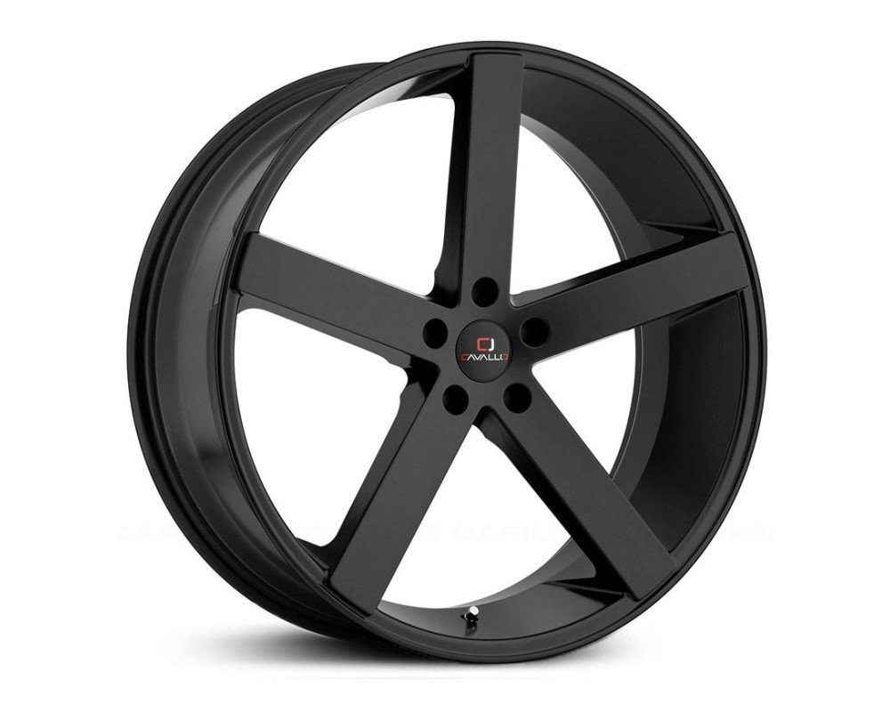 Cavallo CLV-5 Wheel 20x8.5 Blank 15mm Gloss Black