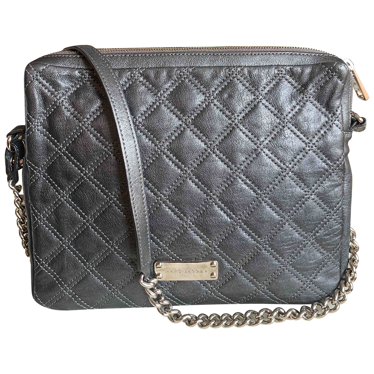 Marc Jacobs \N Anthracite Leather handbag for Women \N