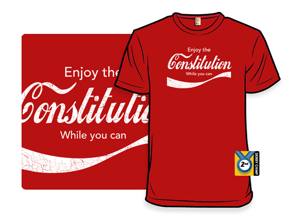Constitution Cola T Shirt
