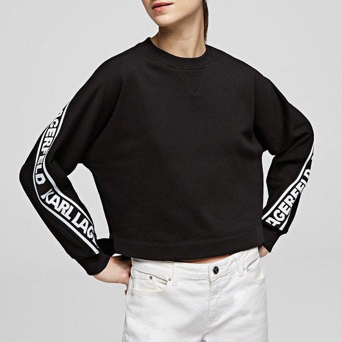 Karl Lagerfeld Rue St-Guillaume Logo Sweat 201W1852 999