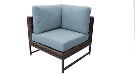 TKC049b-CS-BRN-SPA Barcelona Corner Chair - Beige and Spa