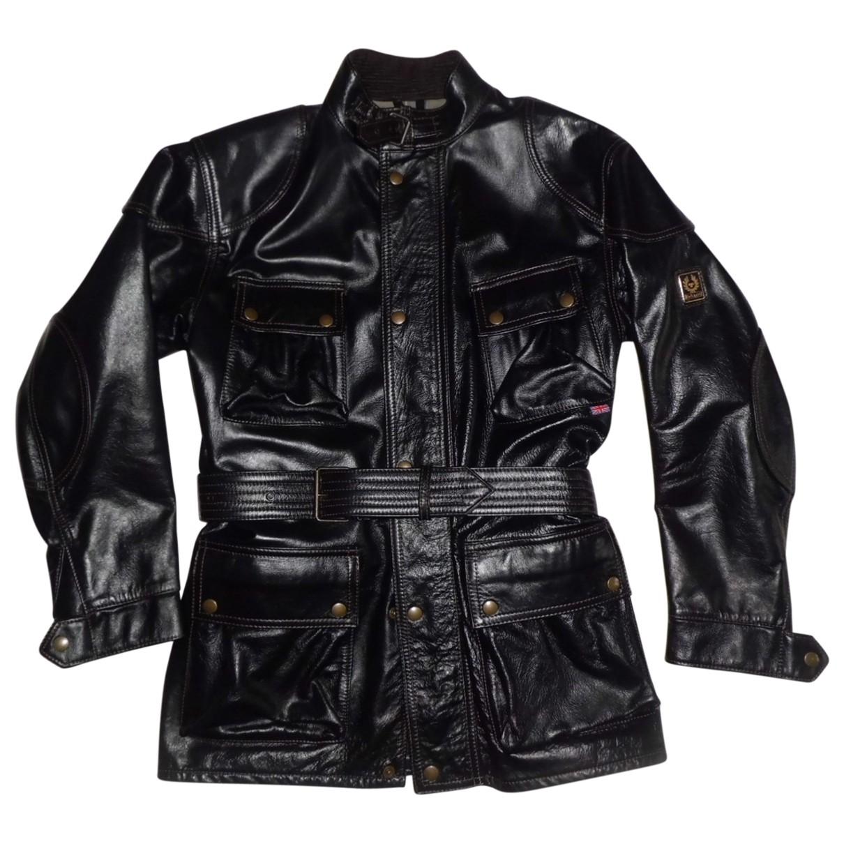 Belstaff \N Black Leather jacket  for Men 48 IT