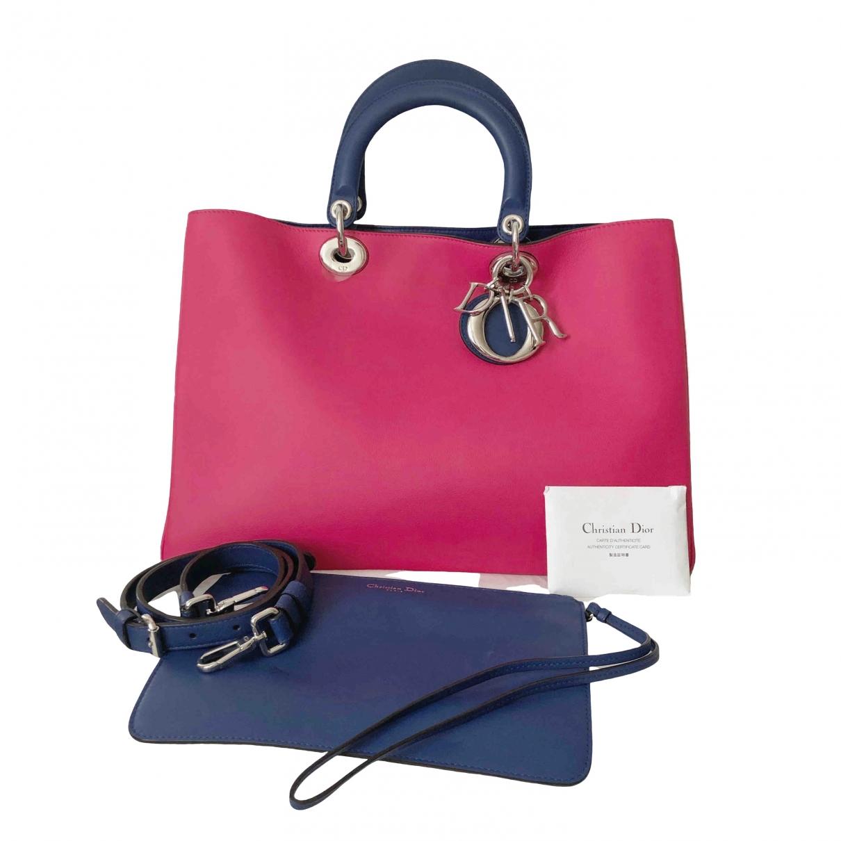 Dior Diorissimo Handtasche in  Bunt Leder
