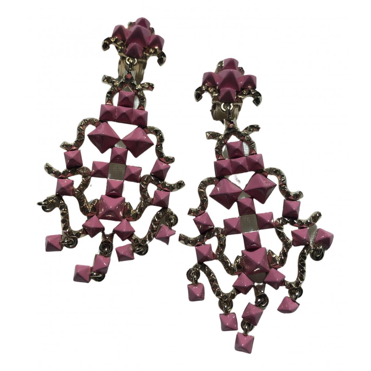 Valentino Garavani \N OhrRing in  Rosa Metall