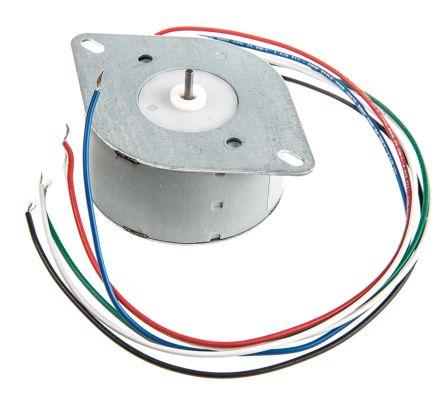 Crouzet Unipolar Permanent Magnet Stepper Motor 7.5°, 57mNm, 12.9 V, 280 mA, 6 Wires