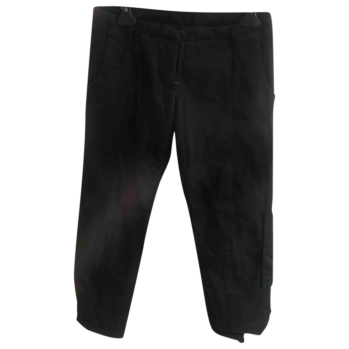 Dondup \N Black Cotton Shorts for Women 42 IT