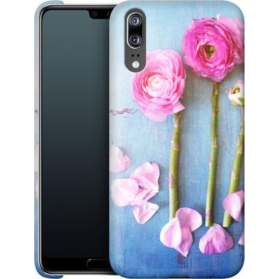 Huawei P20 Smartphone Huelle - Cottage Flowers von Joy StClaire