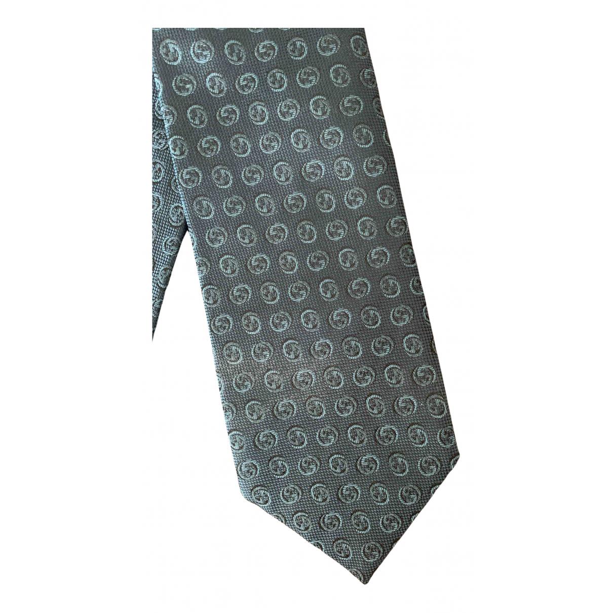 Gucci - Cravates   pour homme en soie - marine