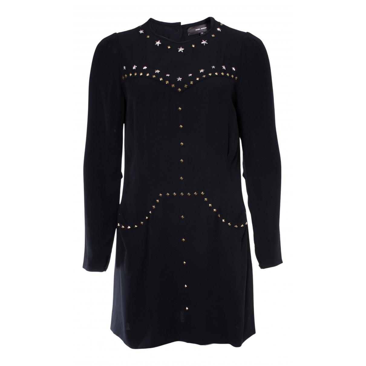 Isabel Marant \N Kleid in  Schwarz Synthetik