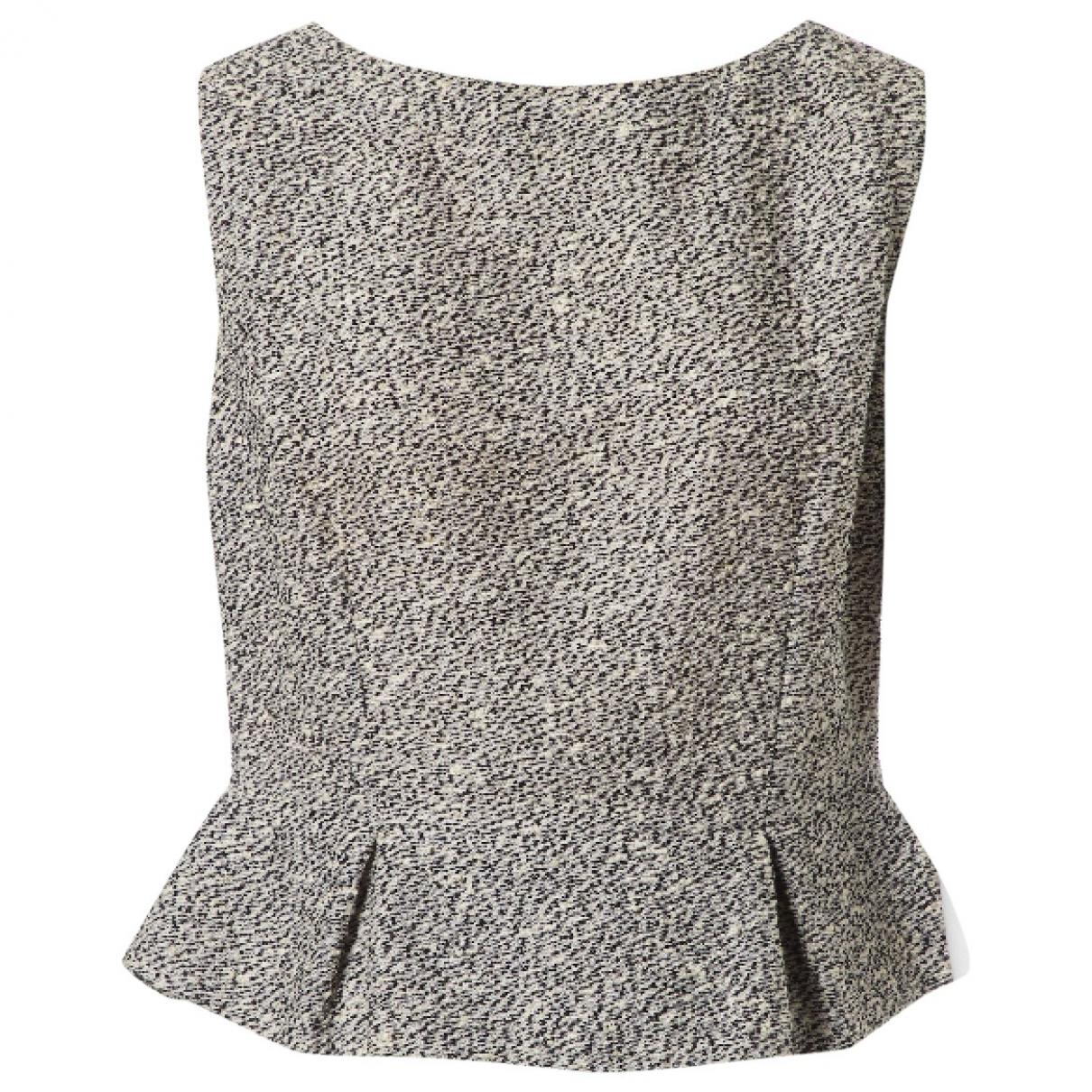 Dior \N Top in  Schwarz Tweed
