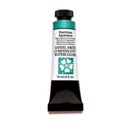 Daniel Smith Extra Fine™ Watercolor, 15 ml Paint in Duochrome Aqua Bluemarine | Michaels®