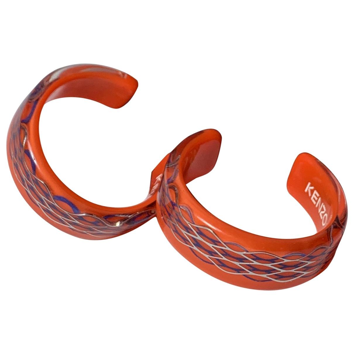 Kenzo X H&m - Boucles doreilles   pour femme - orange