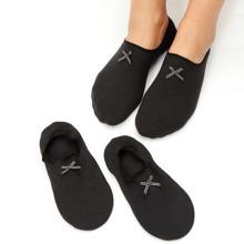 3pairs Bow Decor Socks