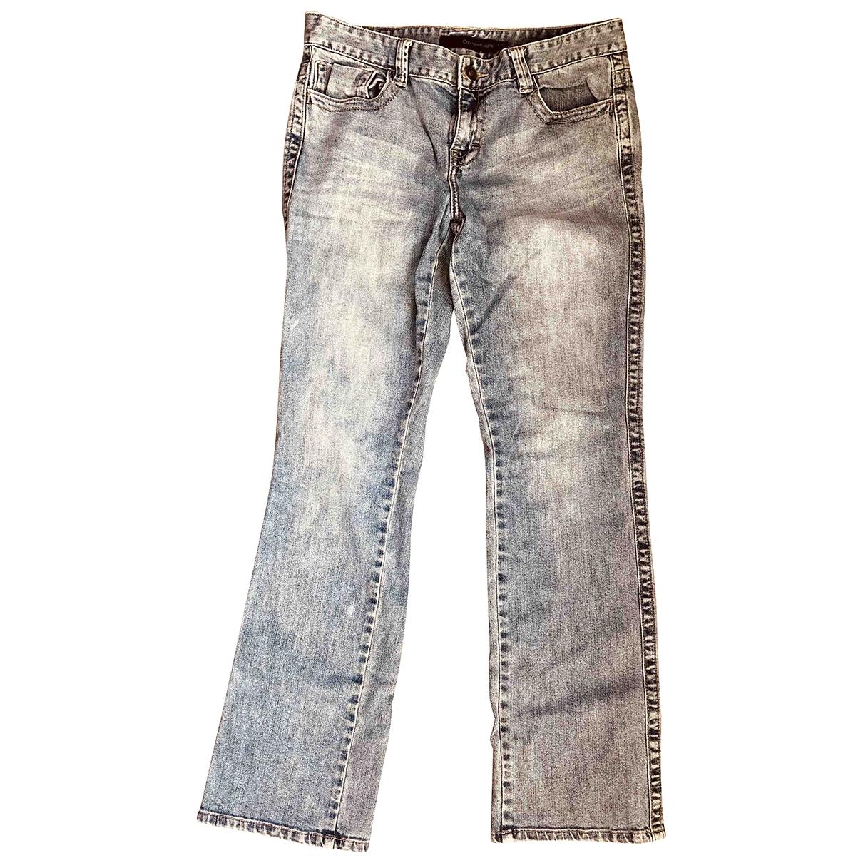 Calvin Klein \N Blue Denim - Jeans Jeans for Women 30 US