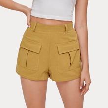 Solid Pocket Shorts
