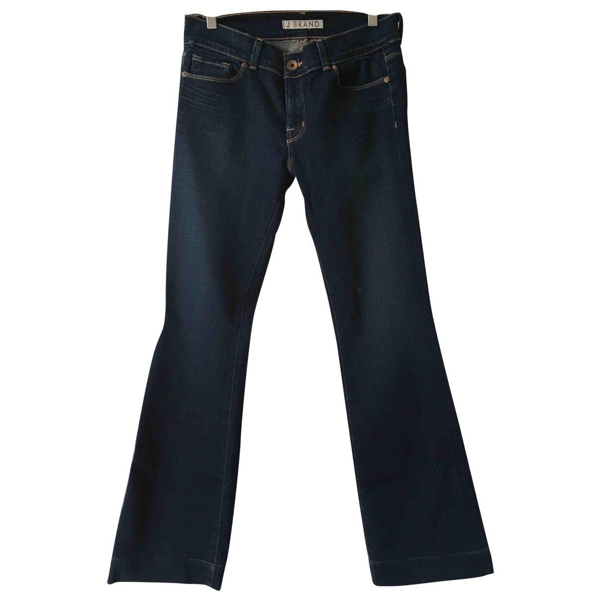 J Brand \N Jeans in  Blau Baumwolle
