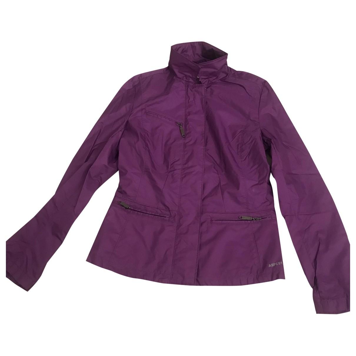 Aspesi \N Purple jacket for Women XS International